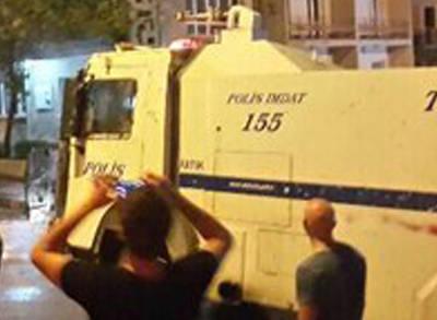 Ankara'da Gezi Eylemine Müdahale