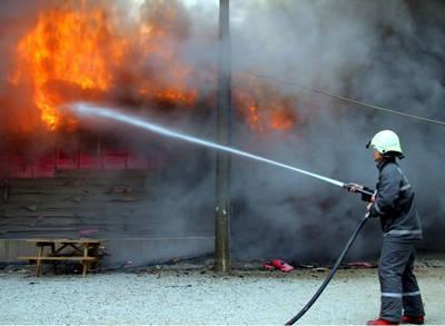 Fethiye'de Yangın!