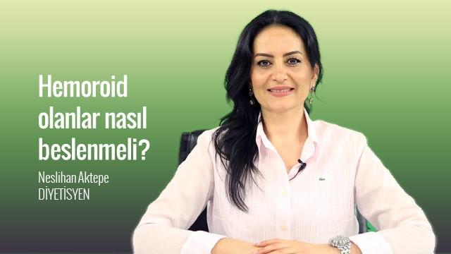 Hemoroid olanlar nasıl beslenmeli ?