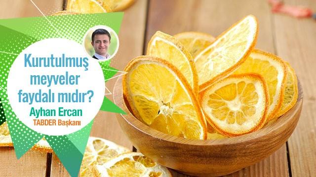 Kurutulmuş meyveler tazeleri kadar faydalı mıdır?