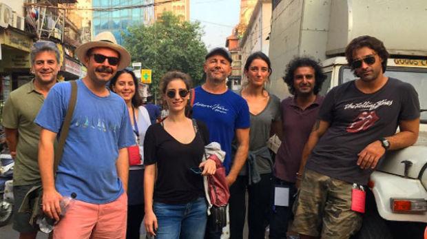 Çağan Irmak, Murat Şeker, Hazal Kaya ve Sarp Levendoğlu bu yıl 18'incisi düzenlenen Mumbai Film Festivali için Hindistan'a gitti