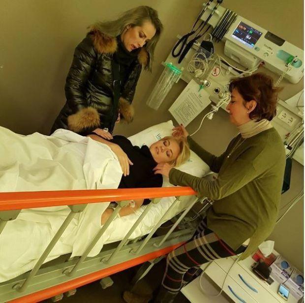 elif güvendik hastaneye kaldırıldı
