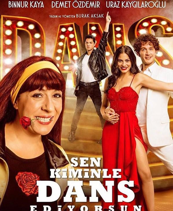 Sen kiminle Dans Ediyorsun filminin afişinde isim krizi çıktı...