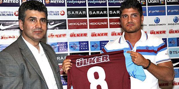 Barış Özbek'in Trabzonspor'a transfer olduğu dönemden bir fotoğrafı…