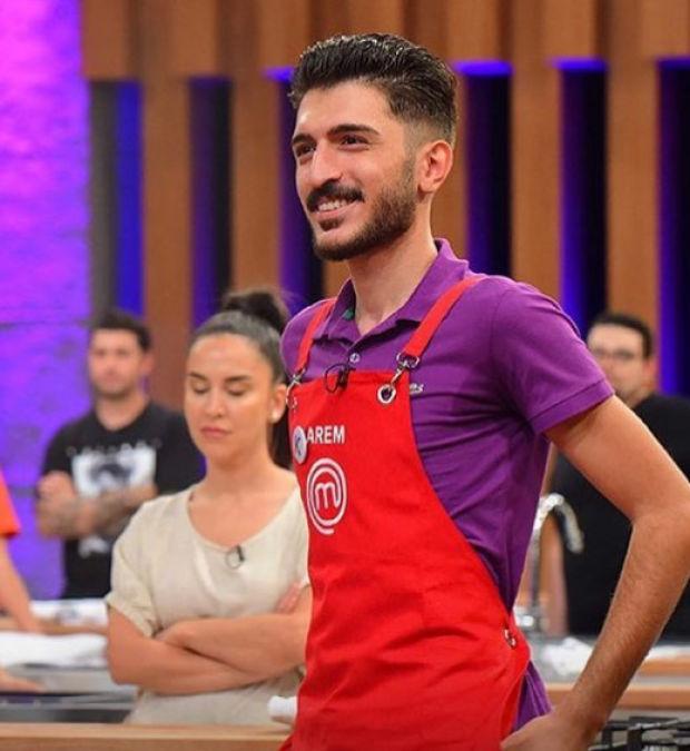 MasterChef Türkiye'de yarışan Arem Yüce'nin, yarışma anından bir fotoğrafı