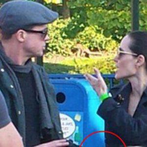 Angelina Jolie ve Brad Pitt'in kavgası! Fotoğraflar ortaya çıktı
