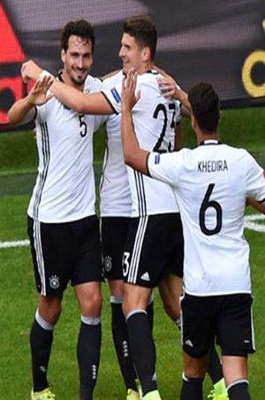 Almanya - Slovakya Maçı Sonucu: 3-0 (MAÇ ÖZETİ)