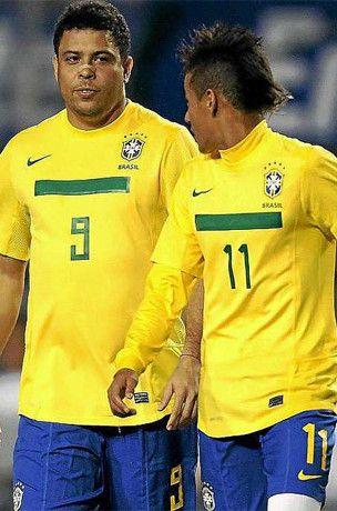 Neymar Ronaldo'ya karşı