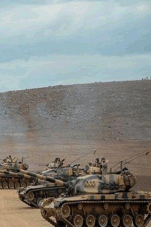 Pentagon'dan Cerablus'a hava desteği | Cerablus son durum  -  güncel Suriye, Cerablus haritası