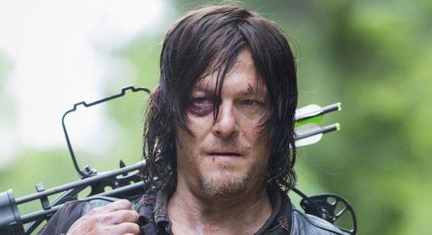 The Walking Dead Hayranı Norman Reedus'ı ısırmaya çalıştı!
