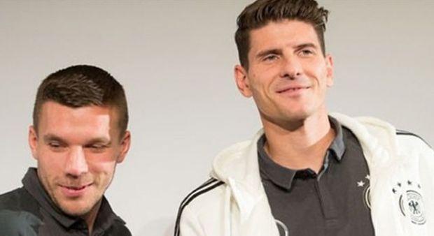 Podolski ve Gomez'den İspanya-Türkiye tahmini!