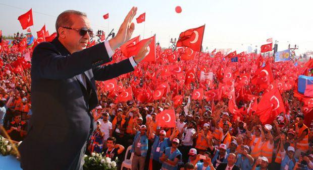 Cumhurbaşkanı Erdoğan Yenikapı'da konuştu