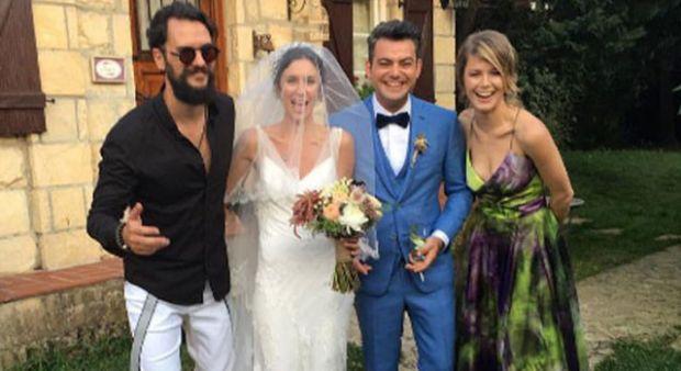 Murat Eken ve Gizem Önen çifti evlendi