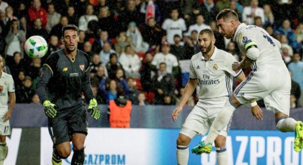 UEFA Süper Kupası Real Madrid'in oldu