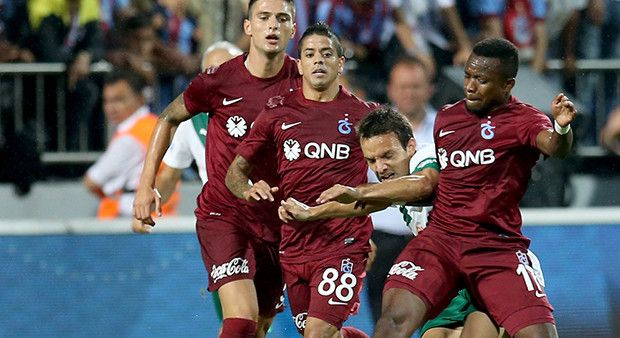 Timsah Trabzonspor'a acımadı!