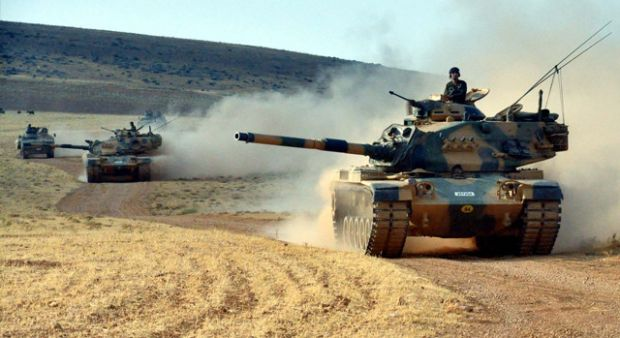 Cerablus'ta tanka roketli saldırı