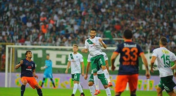 Bursaspor 0-2 Medipol Başakşehir   Süper Lig Maç Sonucu