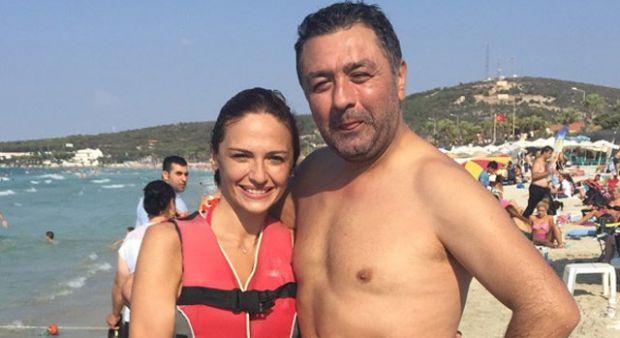 Sinem Öztürk ve Mustafa Uslu çifti Çeşme'de tatilde