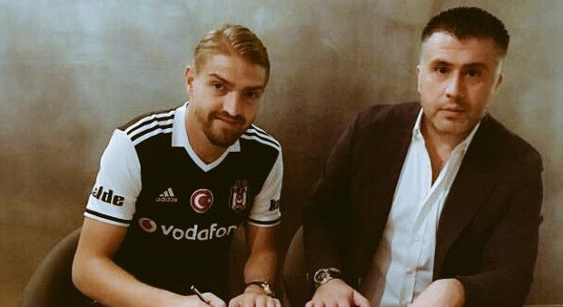 Caner Erkin resmen Beşiktaş'ta!