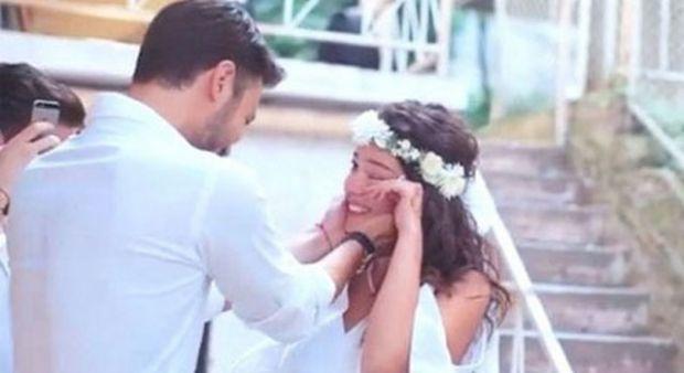 Pelin Akil ve Anıl Altan'ın nikahından çok özel görüntüler