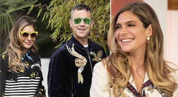 Robbie Williams ve Ayda Field, Cameron Diaz sayesinde barıştı