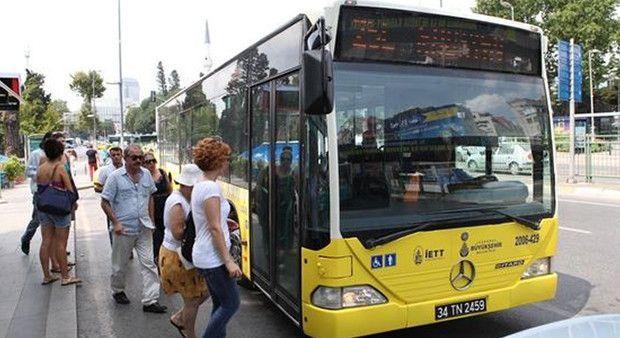 Toplu taşıma araçları Pazartesi ücretsiz