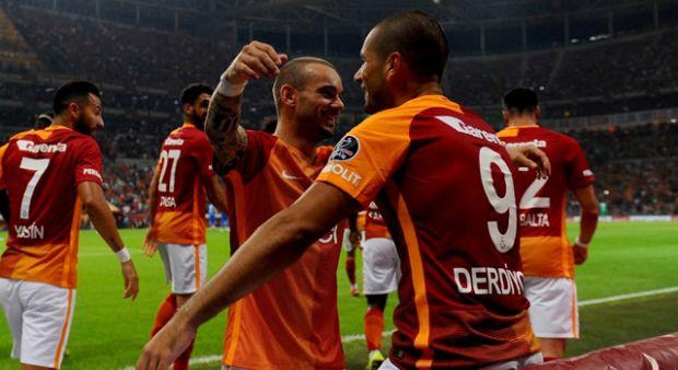 Galatasaray'da derbi galibiyetine prim yok