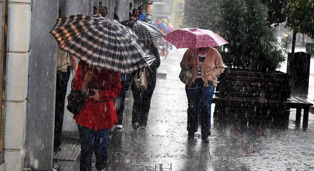 Meteoroloji 4 kenti uyardı! Kuvvetli yağış geliyor...