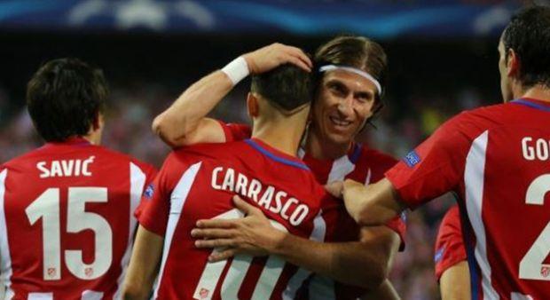 Atletico Madrid açılışı yaptı!