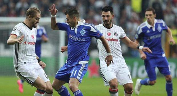 Beşiktaş maçında şok görüntüler!
