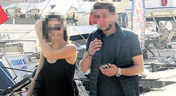 Sercan Badur ve Eva Dedova birlikte görüntülendi