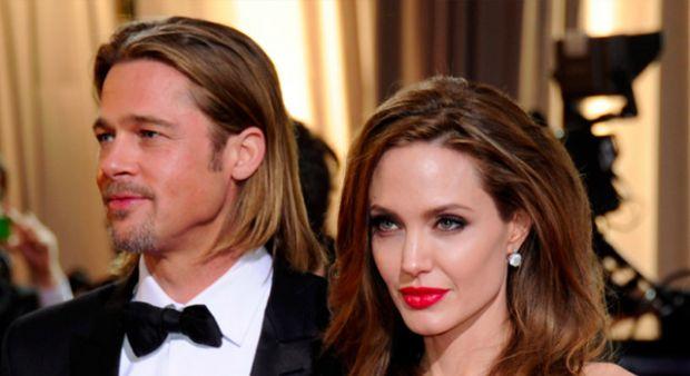 Brad Pitt ve Angelina Jolie ayrılıktan sonra ilk kez bir arada!