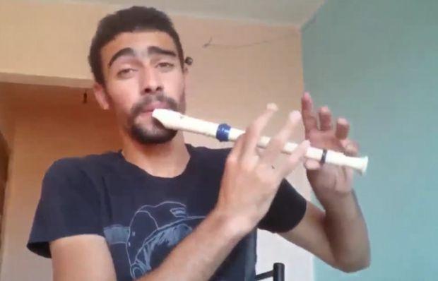 Flüt ve beatbox birleşirse...