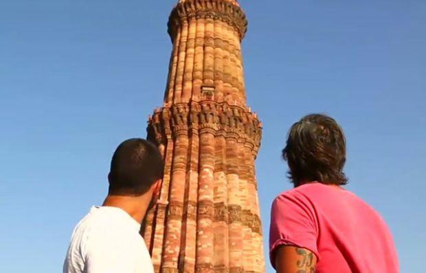 Hindistan'ın tarihi yerlerini gezdiler!