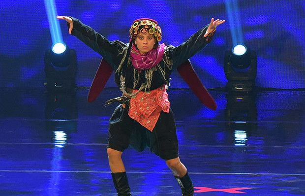 Gamze Şanlı'nın dans gösterisi
