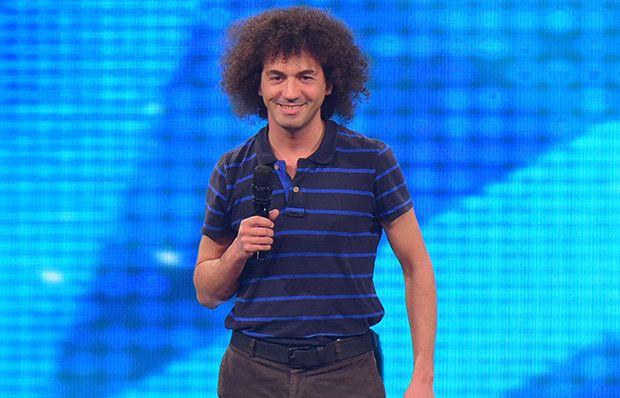 Volkan Arslan'ın dans gösterisi