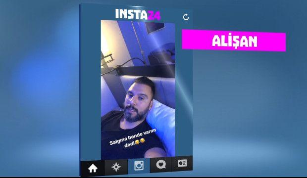 Ünlülerin Instagram hikayeleri INSTA24'te