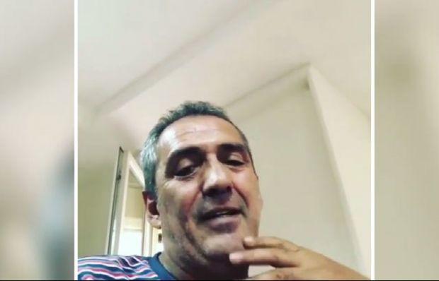 Yavuz Bingöl'den şaşırtan video! Kendi kendine konuştu
