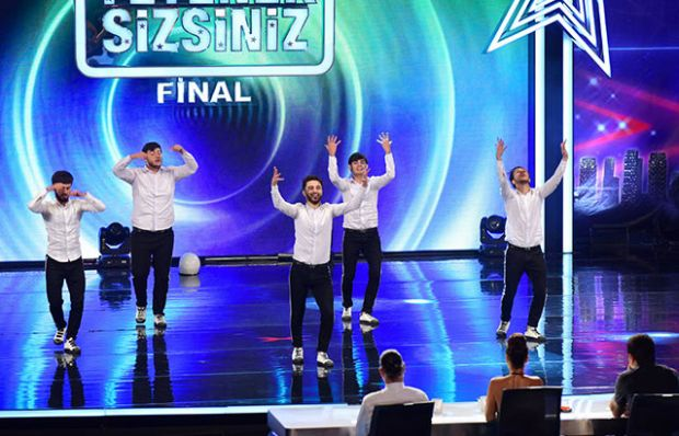 Gasanov Dans Grup final performansı