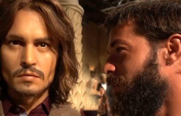 Hilmi Cem'den Johnny Depp'e oyunculuk dersi!