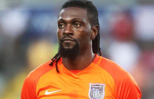 Adebayor sahayı beğenmedi, maça çıkmadı