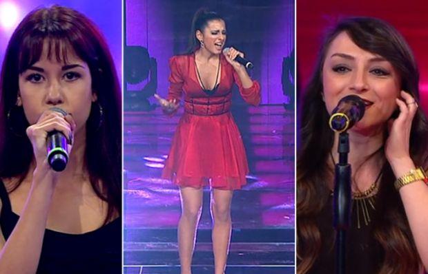Kadın yarışmacılardan unutulmaz performanslar!