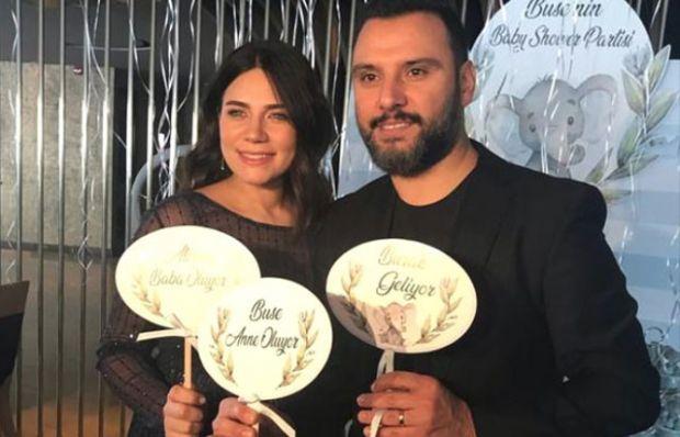 Alişan ve Buse Varol'dan doğum öncesi kutlama