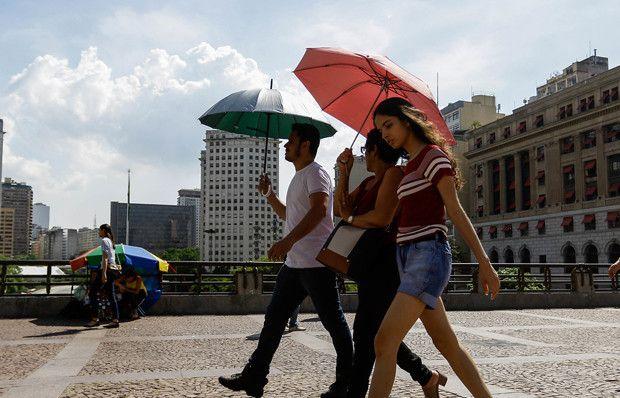 Brezilya'da aşırı sıcak havalar bunaltıyor!