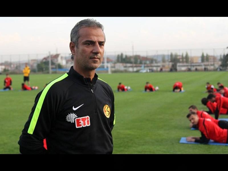 Eskişehirspor'da İsmail Kartal, ilk antrenmanına çıktı