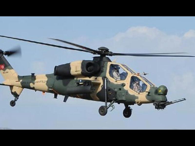 Askeri helikopter korkuttu, acil iniş yaptı
