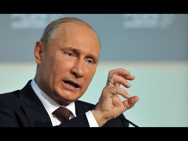 Putin'e şok!