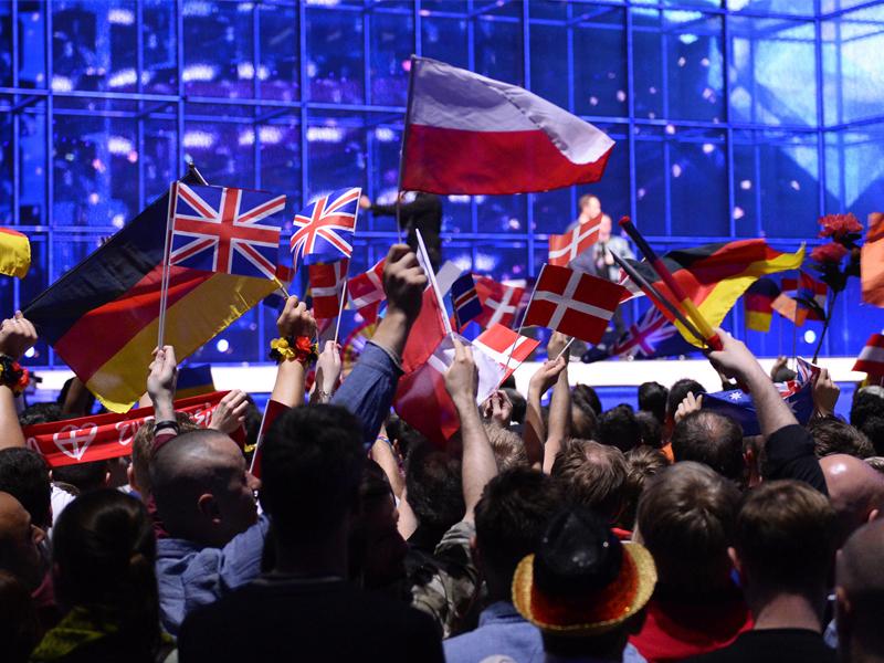 Eurovision'da KKTC ve Filistin bayrağı yasaklandı