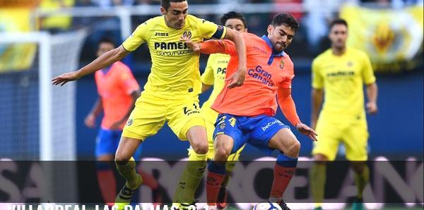 Villarreal-Las Palmas: 2-1