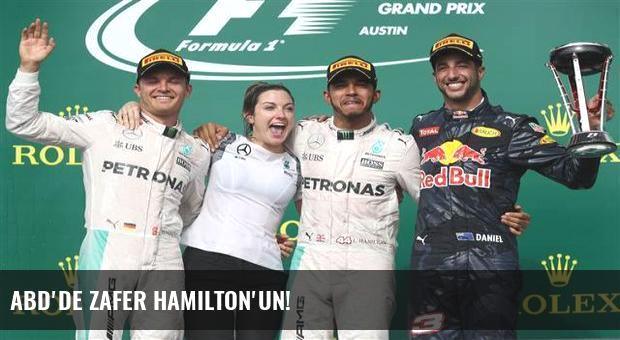 ABD'de zafer Hamilton'un!